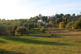 Large plot of land with pool n quiet location close to Loule